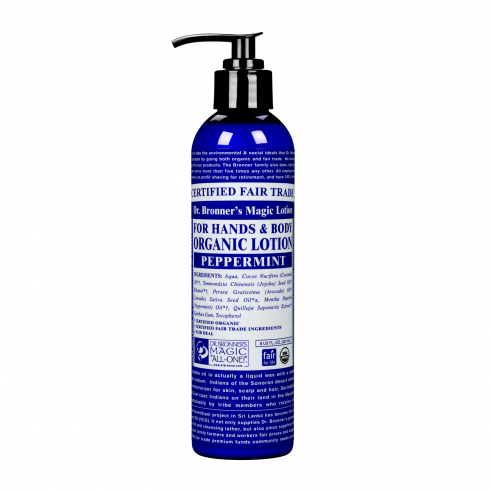 Dr. Bronner's Magic Soaps Organic Peppermint Lotion 236ml