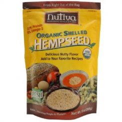 Organic Shelled Hemp Seeds 227g