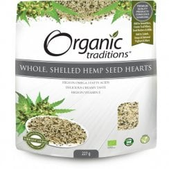 Whole Shelled Hemp Seed Hearts 227g