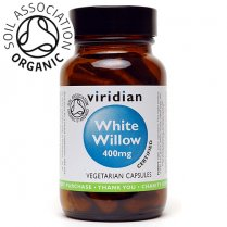 Organic White Willow 400mg 30's