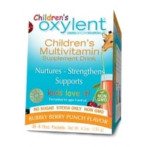 Children's Multivitamin Supplement Drink (Bubbly Berry Punch) - 30 Days