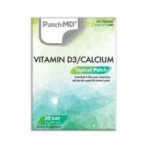 PatchMD D3/Calcium Plus (Topical Patch 30 Day Supply) - 30 Patches