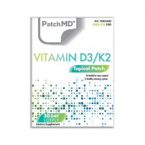 PatchMD D3/K2 Plus (Topical Patch 30 Day Supply) - 30 Patches