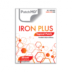 PatchMD Iron Plus (Topical Patch 30 Day Supply) - 30 Patches