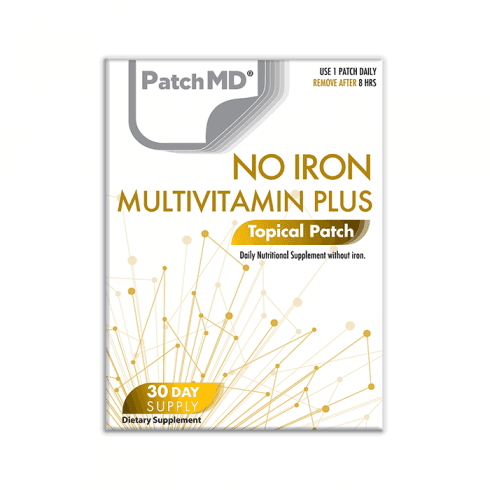 PatchMD No Iron MultiVitamin Plus (Topical Patch 30 Day Supply) - 30 Patches