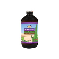 Preservative Free Fillet Aloe Vera Juice Organic 473ml