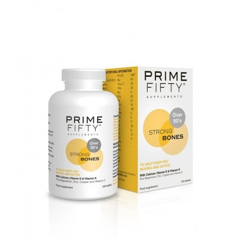 Prime Fifty Strong Bones 120's Currently Unavailable