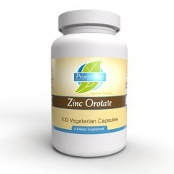 Priority One Zinc Orotate - 100 Capsules