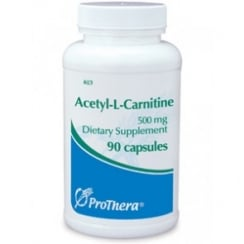 Acetyl-L-Carnitine 500mg 90's