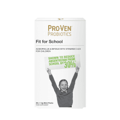 Proven Probiotics Fit for School Stick Packs 28's