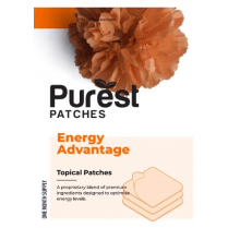 Purest Patches Energy Advantage (1 Month Supply) - 30 Patches