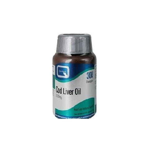 Quest Vitamins Cod Liver Oil 1000mg 30's (Currently Unavailable)
