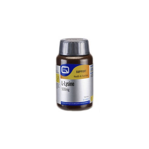 Quest Vitamins L-Lysine 500mg 60's