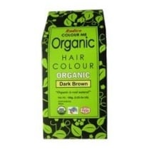 Organic Hair Colour Dark Brown 100g