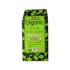 Organic Hair Colour Soft Black 100g