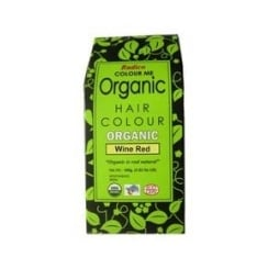Organic Hair Colour Wine Red 100g