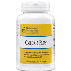 Researched Nutritionals Omega-3 Plus - 60 Softgels