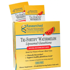 Researched Nutritionals Tri-Fortify Watermelon Liposomal Glutathione & Vitamin C - 20 Pack Box