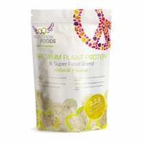 Premium Plant Protein & Super Food Blend Natural 250g
