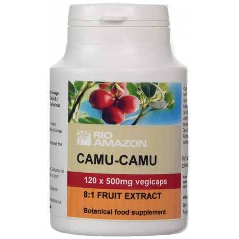 Rio Amazon Camu-Camu 500mg 8:1 extract vegicaps 120's