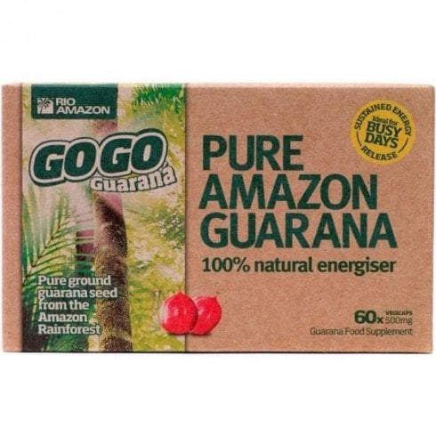 Rio Amazon GoGo Guaran 500mg vegicaps 60's