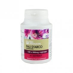 Pau d'Arco (Lapacho) 500mg 5:1 extract vegicaps 120's