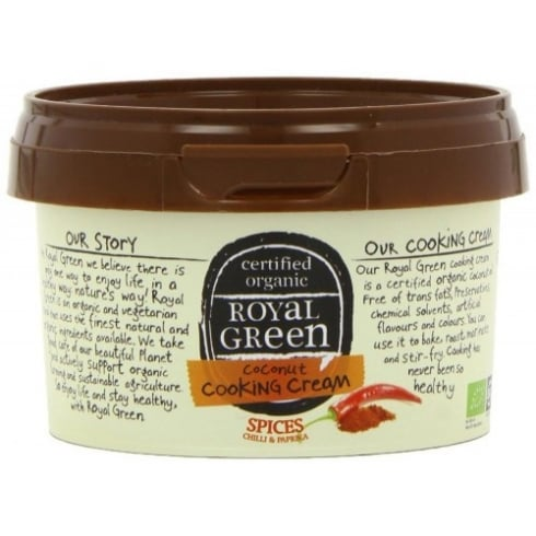 Royal Green Coconut Cooking Cream Spices Flavoured 250ml