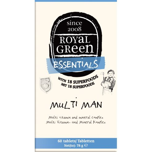 Royal Green Multi Man 60s