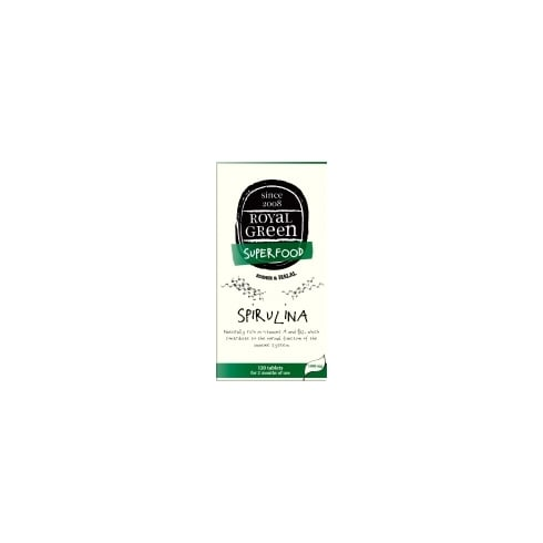 Royal Green Spirulina 120's