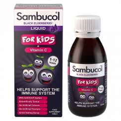 Sambucol For Kids + Vitamin C (Black Elderberry) 120ml