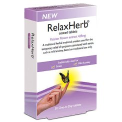 RelaxHerb - Passion Flower - 30 tablets