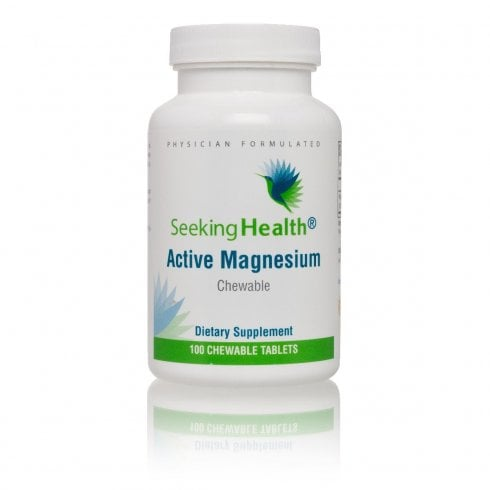 Seeking Health Active Magnesium Chewable - 100 Chewable Tablets
