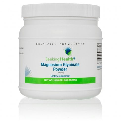 Seeking Health Magnesium Glycinate Powder 200mg - 300g