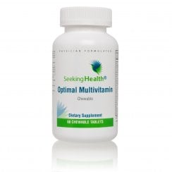 Seeking Health Optimal Multivitamin Chewable - 60 Chewable Tablets Currently Unavailable