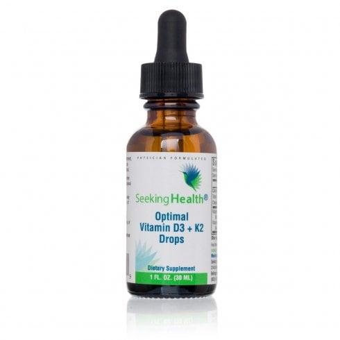 Seeking Health Optimal Vitamin D3 + K2 Drops - 30ml