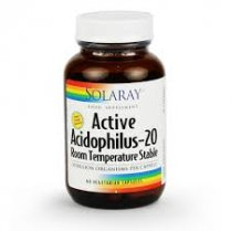 Active Acidophilus-20, Shelf Stable 60's
