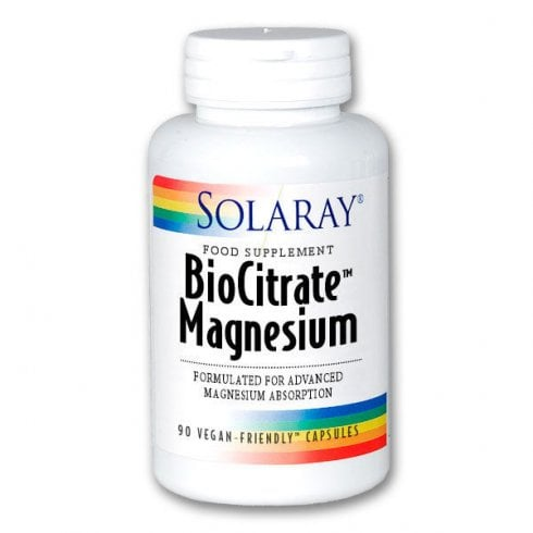 Solaray Biocitrate Magnesium 133mg 90's