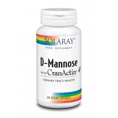 D-Mannose with Cranberry Extract (CranActin) & Vitamin C 60's