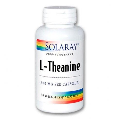 Solaray L-Theanine 200mg 30's