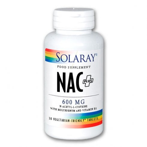 Solaray NAC + 600mg 30's