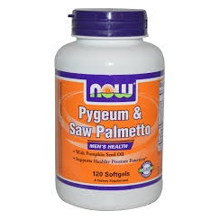 Pygeum and Saw Palmetto 120's