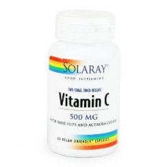Vitamin C Two-Stage, Timed Release 500mg 60's