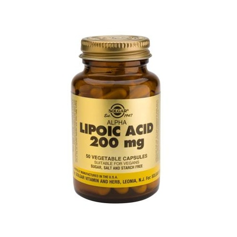 Solgar Alpha-Lipoic Acid 200mg 50's