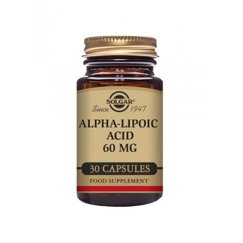 Solgar Alpha-Lipoic Acid 60mg 30's