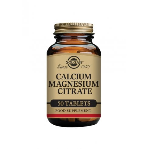 Solgar Calcium Magnesium Citrate 50's