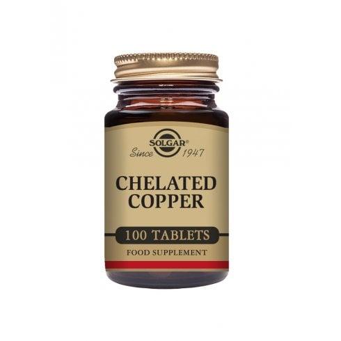 Solgar Chelated Copper 100 tabs