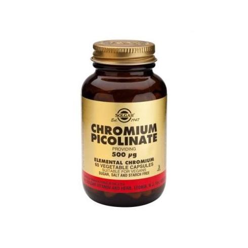 Solgar Chromium Picolinate 500ug 60's
