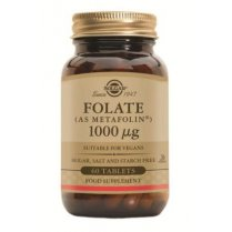 Folate 1000ug (as Metafolin) 60 tablets