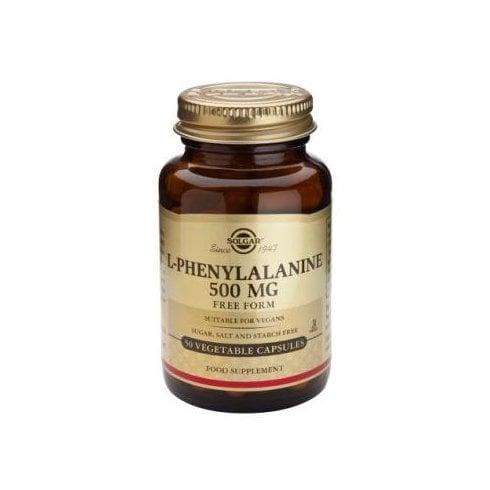 Solgar L-Phenylalanine 500mg 50's