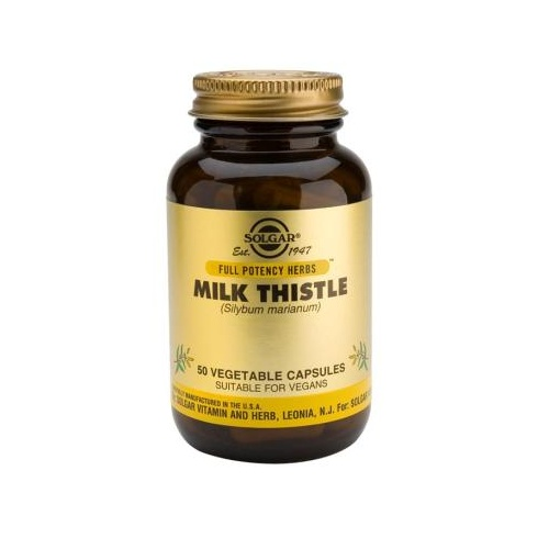 Solgar Milk Thistle 50 veg caps